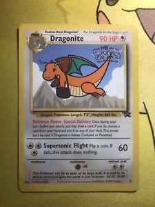 Dragonite Vintage Pokemon Black Star Movie Promo Rare #5 WotC Wizards
