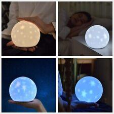 LED Sternenhimmel Nachtlicht Kinder Nachttischlampe mit 6 Beleuchtungsmodi