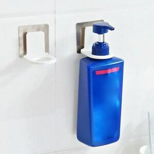 Shower Gel Shampoo Soap Liquid Bottle Wall Mount Holder Suction Cup Rack Hanging