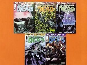 "THE WALKING DEAD #80 81 82 83 84 / IMAGE KIRKMAN ADLARD / VF ""NO WAY OUT"" RUN!"
