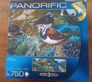 "PANORIFIC ""TIDAL POOL BIG SUR"" 750 PIECES JIGSAW PUZZLE NEW factory sealed bag"