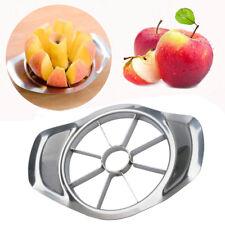 New Stainless Steel Fruit Apple Pear Easy Cut Slicer Cutter Divider Peeler sl