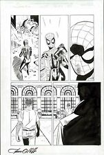 SPIDERGIRL #35 ORIGINAL COMIC ART END PAGE 22 PAT OLLIFFE & AL WILLIAMSON OSBORN