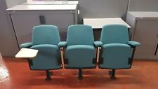 Lecture Theatre Chair - set of Three selling as one lot - Ideal for home cinema