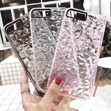 For iPhone XS Max XR X 8 6 7 Plus 6S Crystal Bling Glitter Clear Soft Case Cover