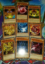 *ORICA* FAN ART Egyptian GOD Obelisk Slifer Ra Sphere Exodia - COMMON - YUGIOH!