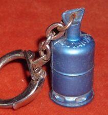porte-clé keychain GAZ BUTAGAZ MOYEN modèle 3,4 cm haut bleu