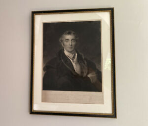 After Sir Thomas Lawrence - Duke of Wellington - Engraving 1846 - Framed Picture