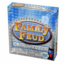 NIB Family Feud  Game Platinum Edition For 2 to 4 Players For Ages 8 +