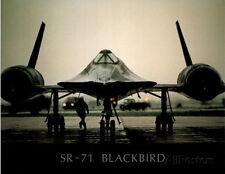 SR-71 Blackbird (On Ground) Art Poster Print Poster Print, 19x13