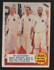 1969 Topps Man on the Moon #49B -- Splashdown