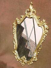 Miroir mural en bronze de style Louis XV - excellent état