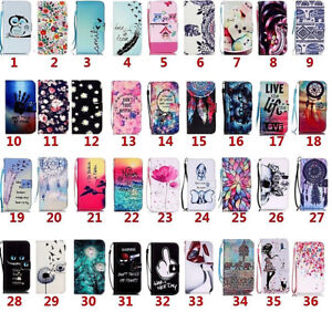 Luxury Flip Wallet Leather Case Holder For iPhone SE 11 Pro Samsung A40/50/70/10