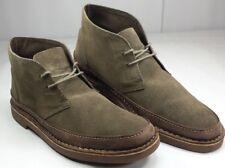 Clarks Men's Suede Desert Chelsea Boots Gray EUC! Size 11 ½ M