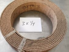 WOVEN BRAKE BAND SHOE MATERIAL 3X1/4 HI-FRICTION NON ASBESTOS FORD SOLD BY FOOT