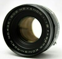 Vintage Konica Hexanon 1:1.8 52mm Lens *As Is* #CQ11b