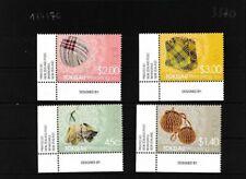 Tokelau 445-448 (completa edizione) MNH Eckrandstücke (103370