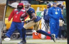 DONALD DRIVER GREEN BAY PACKERS SIGNED 8X10 PHOTO JSA/COA AUTOGRAPHED #L62804