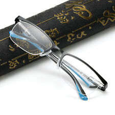 Half-rim Women Men Reading glasses Reader +1.0 +1.5 +2.0 +2.5 +3.0 +3.5 +4.0
