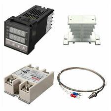 Pid Rex C100 Temperature Controller Ssr 40da K Thermocouple Heat Sink Kit New
