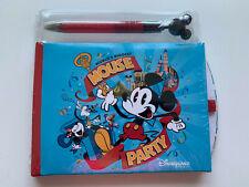 Official Disneyland Paris Mickey Mouse Biggest Mouse Party Autograph Book & Pen