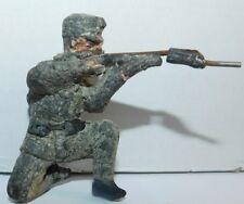 HINDENBURG ANCIEN SOLDAT 105mm SOLDAT ALLEMAND TIREUR A GENOU WWI COMPOSITION