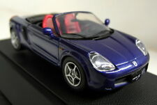 Ebbro 1/43 Scale 43100 Toyota MR-S Roadster Blue metallic diecast model car