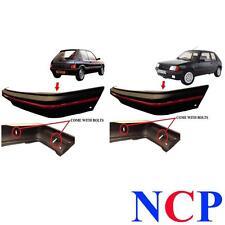 PEUGEOT 205 GTI MK 2 90-96 avant et pare-chocs arrière noir avec bord rouge & Boulons