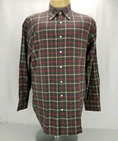 Peter Millar Casual Men's Size Large Button-Down Plaid Long Sleeve Shirt EUC