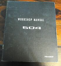 Peugeot 504 Factory Manual Gas engines