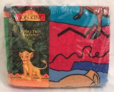 Vintage Disney Lion King 3 PC Twin Bed Sheet Set RARE