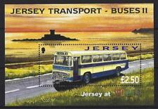 Jersey 2008 Jersey Transport Buses Feuillet Wipa '08 non Montés Excellent État