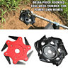 Break-proof Rounded Edge Weed Trimmer Edge Head for Power Lawn Mover Garden Tool