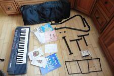 Yamaha PSR-3 Portable Keyboard Electronic Keyboard w/ stand & travel case