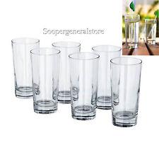 6 IKEA Vanlig 16oz Stackable Glass Pint Tumblers Designed Henrik Preutz Retired