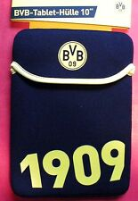 "Borussia Dortmund BVB Tasche Hülle Schutz Sleeve universal f Tablet 10"" 10 Zoll"