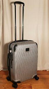 NWT Tumi Latitude Continental Carry-on Luggage  Gray w/Anti Scratch system $795