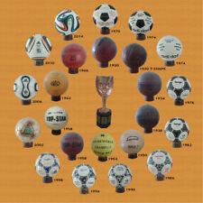 COLECCIÓN BALONES MUNDIALES 1930 A 2014 (23 BALONES + 23 SOPORTES)(pre ADIDAS)