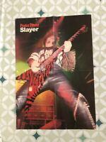 SLAYER KERRY KING VINTAGE Wall Poster THRASH METAL