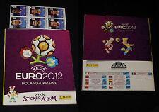 ***ALBUM EURO 2012*** ED. PANINI COMPLETO CON AGGIORNAMENTI