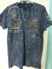 Violento mens cotton tie dye t-shirt size L NEW
