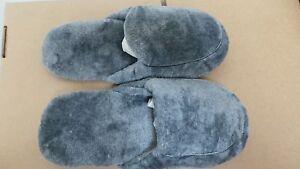 NEW! Soft & Comfortable Women's Slip On House Slippers Gray Size:7/8.5* V14-15