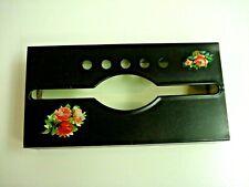 Vintage Metal Tissue Dispenser Box-Wall Mount or Table Top-Black-RETRO-NICE