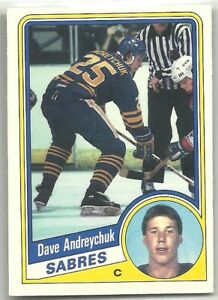 1984-85 O-Pee-Chee #17 DAVE ANDREYCHUK SABRES ROOKIE RC NEAR MINT!  *See Scan*