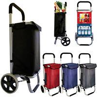 Einkaufswagen Einkaufstrolley Trolley Einkaufsroller Aluminium Tasche klappbar