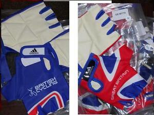 Adidas TEAM GB RIDER ISSUE Track Mitts bike cycling gloves mits  XS S M L XL XXL