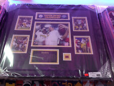 Steelers Super Bowl XLIII Champs Framed Picture Roethlisberger Harrison Holmes