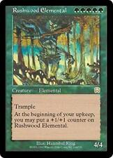 RUSHWOOD ELEMENTAL Mercadian Masques MTG Green Creature — Elemental RARE