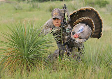 Heads Up Tom Turkey Scoot & Shoot/Reaping/Reaper Hunting Decoy Gun/Bow Mountable