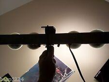 VINTAGE 8mm 16mm MOVIE CAMERA LIGHT BAR 4 BULBS CASE CHICAGO KITCHENWARE CKC150M